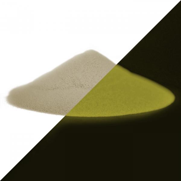 Luminescent powder natural yellow 40 g - Phosphorescent color pigments