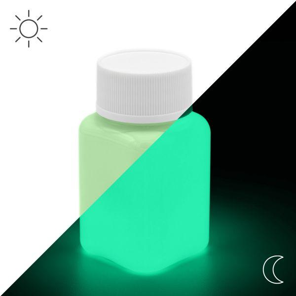 Luminous Paint Green 100 g - Glow in the Dark Paint