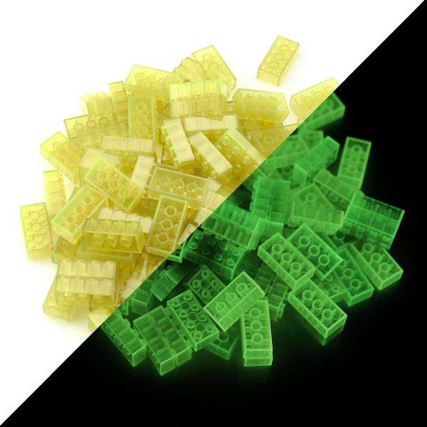 Toy bricks - Yellow (100 pieces, type 4x2)