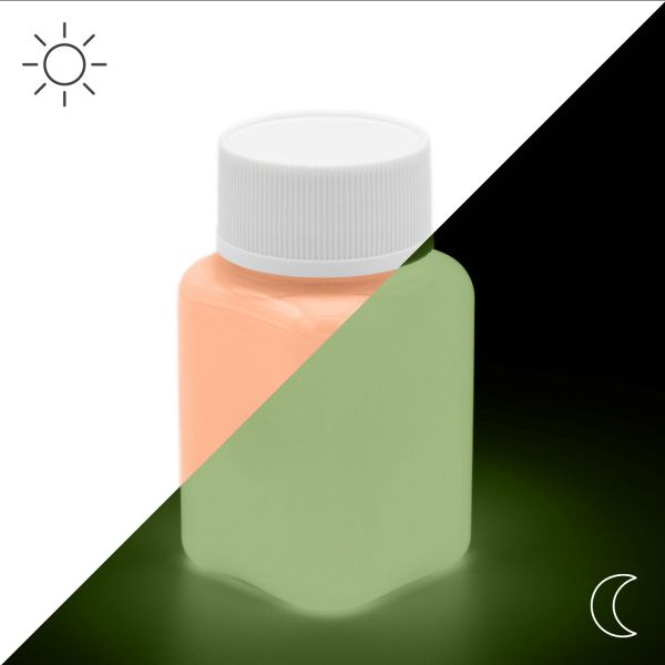 Luminous Paint Orange 100 g - Glow in the Dark Paint