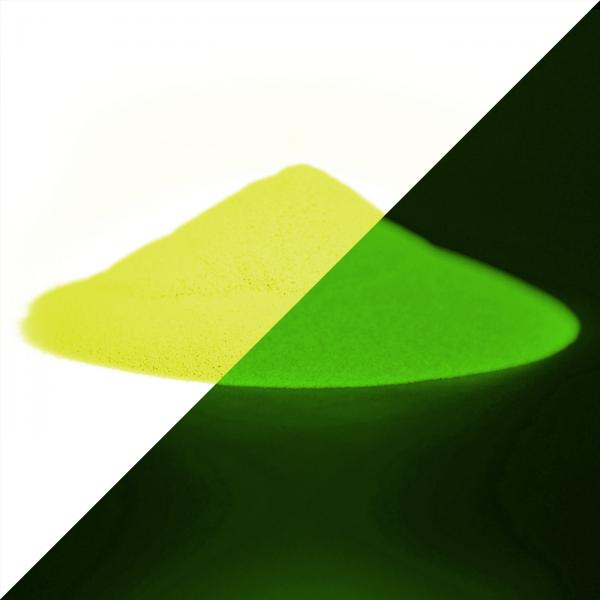 Luminescent powder yellow-yellow-green 40 g - Phosphorescent color pigments