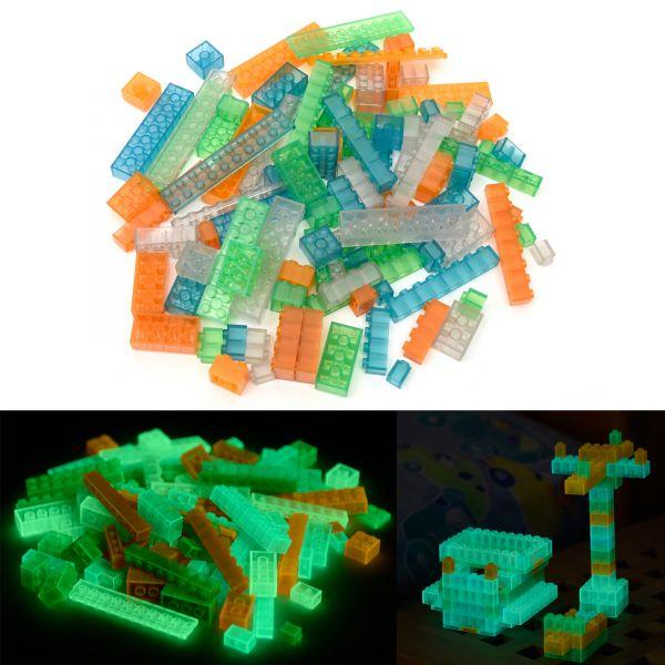 Toy bricks - Multi color (100 pieces, multi styles)