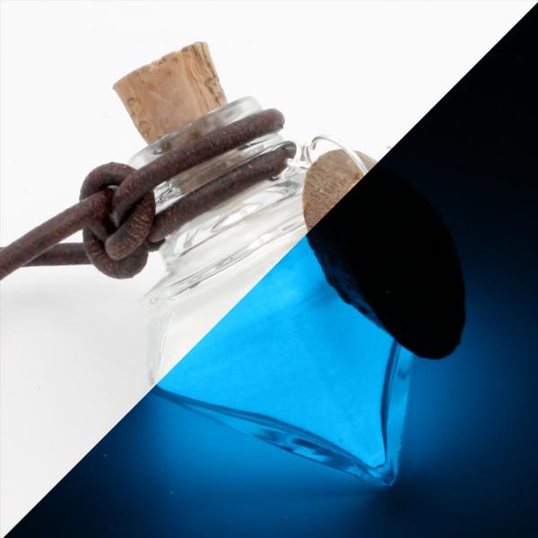 "Luminous mana ""Mannaz"" (blue)"
