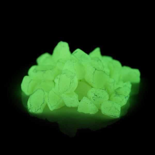 Glow Stones Yellow 300g - Glow in the dark phosphorescent decorative stones