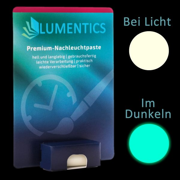 Watch Hand Color Natural BlueGreen - Fine luminous paste