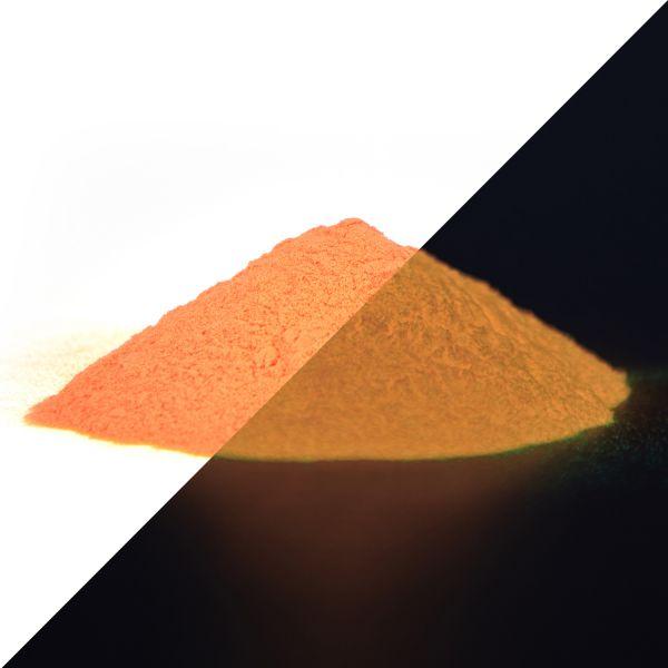 Phosphorescent powder orange 40 g - Phosphorescent premium pigments (type: SrAl2O4)