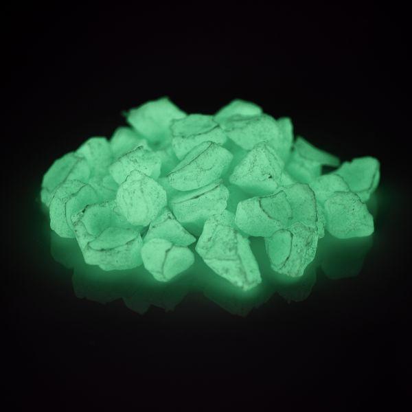Glow Stones BlueGreen 300g - Glow in the Dark Phosphorescent Decorative Stones