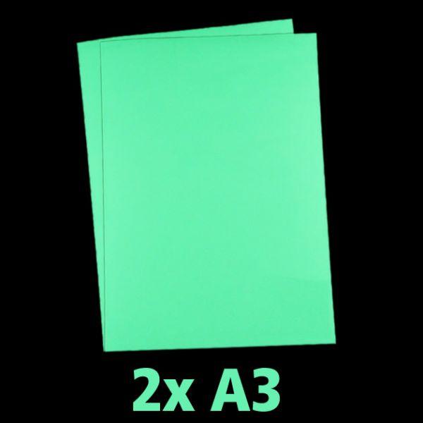 Leuchtpapier für Tintenstrahldrucker (2er Pack, DIN A3)