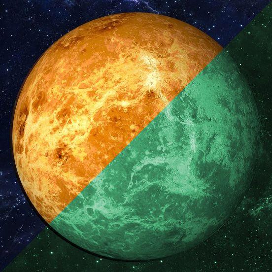 Photoluminescent sticker Venus (30 cm)