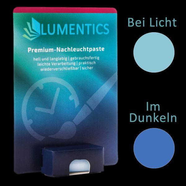 Watch hand color blue-blue